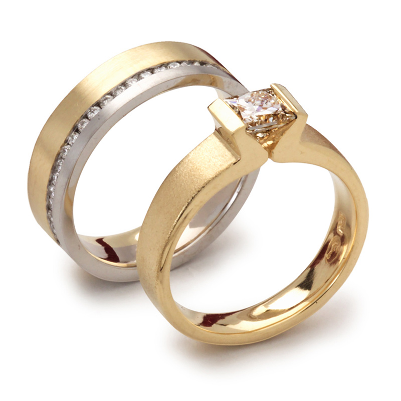 Engagement Custom Wedding Rings Koro Fine Jewellery Perth